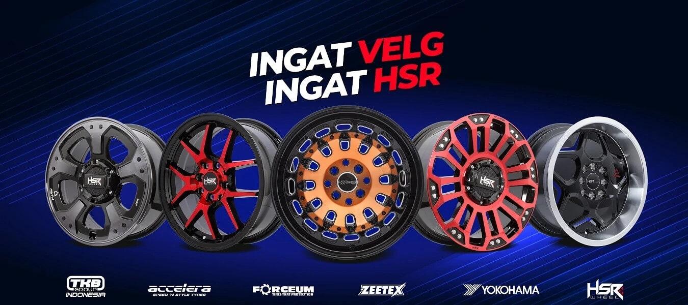Velg Mobil HSR Wheel Ingat Velg Ingat HSR