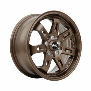 HSR Daimon 7007 Ring 15x6,5 H10x100-114,3 ET40 Semi Matte Bronze1