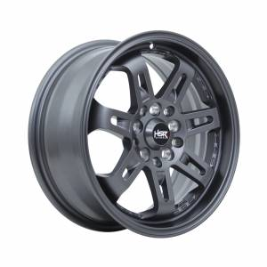 HSR Daimon 7007 Ring 15x6,5 H10x100-114,3 ET40 Semi Matte Grey1