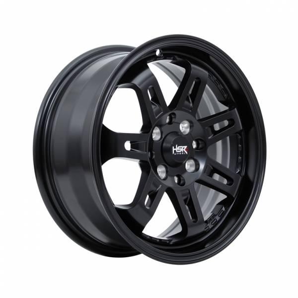 HSR Daimon 7007 Ring 15x6,5 H8x100-114,3 ET40 Semi Matte Black1HSR Daimon 7007 Ring 15x6,5 H8x100-114,3 ET40 Semi Matte Black1