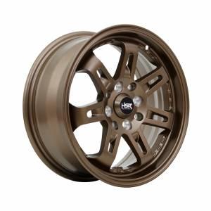 HSR Daimon 7007 Ring 15x6,5 H8x100-114,3 ET40 Semi Matte Bronze1