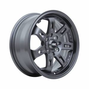 HSR Daimon 7007 Ring 15x6,5 H8x100-114,3 ET40 Semi Matte Grey1