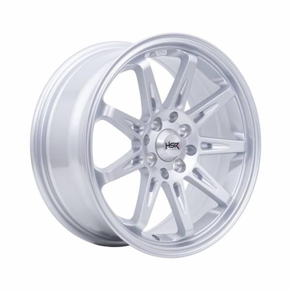 HSR Tikala 9004 Ring 16x7 H8x100-114,3 ET40 Silver1
