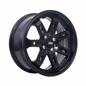 HSR Daimon 7007 Ring 16x7 H8x100-114,3 ET40 Semi Matte Black1