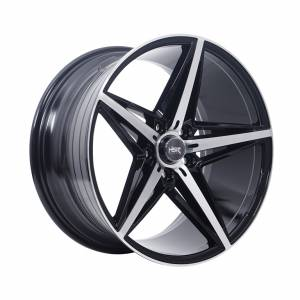 HSR BECO 5047 Ring 18x8-9 H5x112 ET40 Black Machine Face11