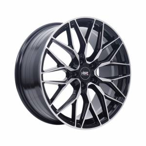 HSR Eroko JA022 Ring 19x8,5 H5x114,3 ET45 Black Machine Face1