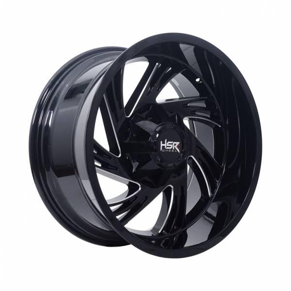 HSR FG Gilini IV-7068 Ring 20X10 H6x135-139,7 ET-24 Black Full Millin1