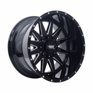 HSR FG Kaprus IV-1255 Ring 20x12 H6x139,7 ET-44 Black Full Milling1