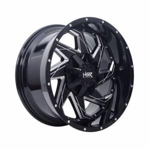HSR FG Maimari IV-8009 Ring 20x10 H6x139,7 ET0 Black Full Milling1