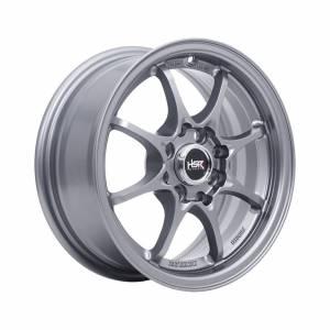 HSR Hiroshima Ring 14x6 H8x100-114,3 ET35 Semi Matte Grey1