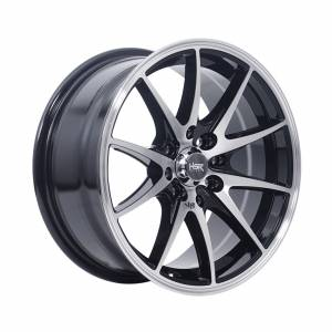 HSR Point G25 Ring 15x7 H8x100-114,3 ET40 Black Machine Face Machine Lips1