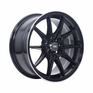 HSR Point G25 Ring 15x7 H8x100-114,3 ET40 Black Machine Lips1