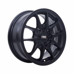 HSR Sasirei B235 Ring 14x6 H8x100-114,3 ET35 Semi Matte Black1