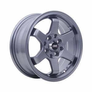 HSR Tokyo Ring 14x6 H8x100-114,3 ET35 Semi Matte Grey1