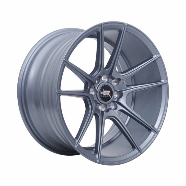 HSR Cocah H595 Ring 17x7.5-9 H8x100-114.3 ET42-30 Semi Matte Grey1