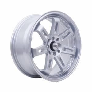 HSR Daimon 7007 Ring 17x7.,5 H8x100-114,3 ET40 Silver1