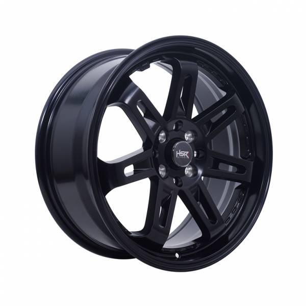 HSR Daimon 7007 Ring 17x7,5 8X100-114.3 ET40 Semi Matte Black1