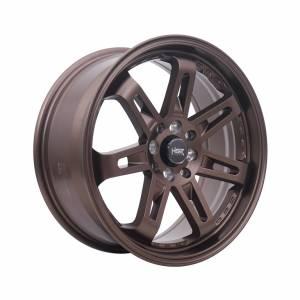 HSR Daimon 7007 Ring 17x7,5 H8x100-114,3 ET40 Semi Matte Bronze1