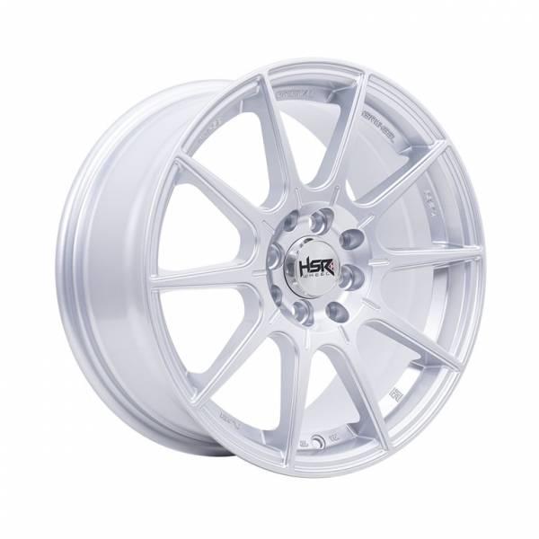 HSR RAI-S2 JA151 Ring 16x7 H8x100-114,3 ET42 Silver1