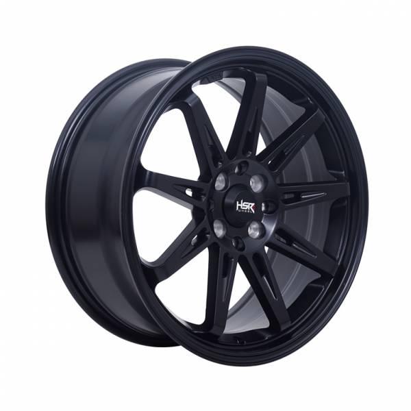 HSR Tikala 9004 Ring 17x7,5 H8x100-114,3 ET40 Semi Matte Black1