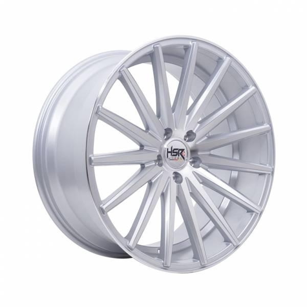 HSR Tsukuba H560 Ring 20x8,5-9,5 H5x112 ET42 Silver Machin Face1