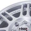 Velg HSR Boon Ring 15 SILVER