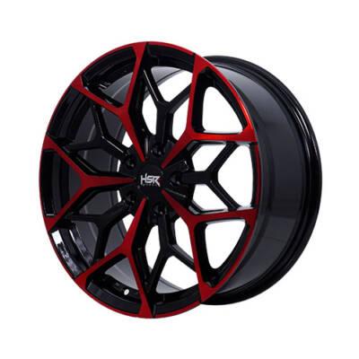Velg HSR Myth 01 Ring 18 BLACK RED FACE
