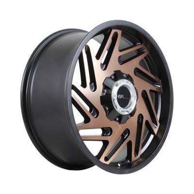Velg HSR Malinau WL105FX03 Ring 20 BK/BRZ