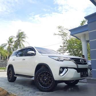 Toyota Fortuner Pakai Ring 20 Ban Mt Pasang Di rumah